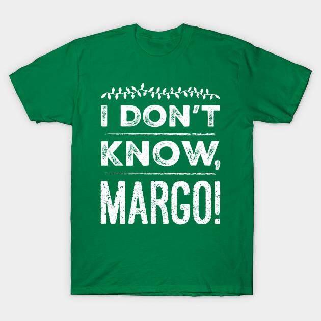 Aku Tidak Tahu, Margo! Kaus Pria Kaus Lengan Pendek-Internasional