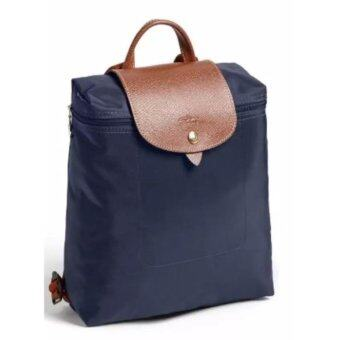 Harga Longchamp Le Pliage Backpack - Navy