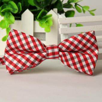 Harga Bowtie Formal Neckwear Bow Tie Party Wedding Mens Solid Silk Bow Ties for Men Accessories