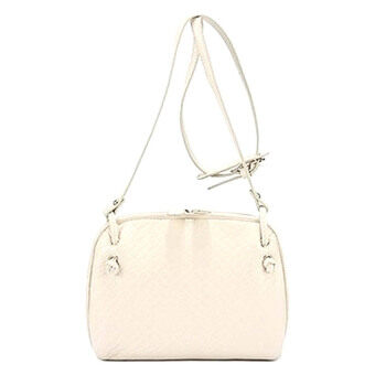 Harga SoKaNo Trendz Crossbody Knitted Bag- Beige