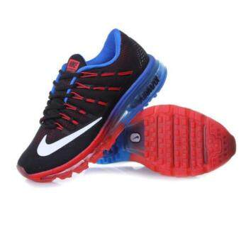 Harga Nike Men's Air Max Casual Shoe Run Sneakers Red/Blue
