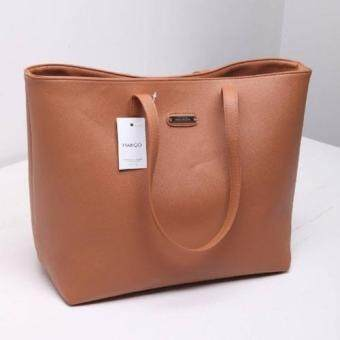 Harga Mango Basic Tote Bag ( Brown )