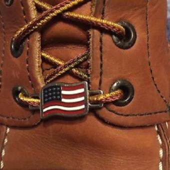 Harga Red Wing Shoes Boot American Flag Lace Keeper Tag Pair