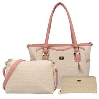 Harga British Polo Super Value 3 in 1 Set (Pink)