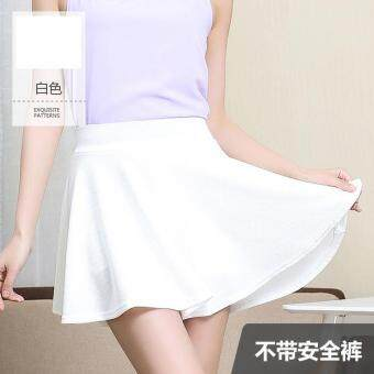 Harga JYS Fashion: Korean Style Mini Skirt Collection 105 3062- Free Size-White