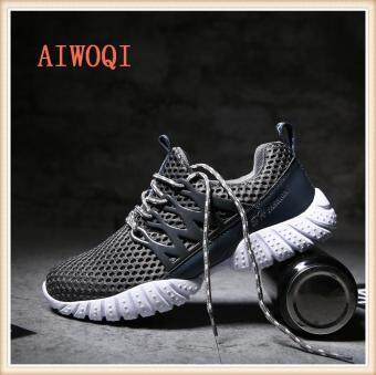 Harga Men Women Unisex Couple Casual Fashion CasualSneakers Breathable Athletic Sports Running Shoes AIWOQI