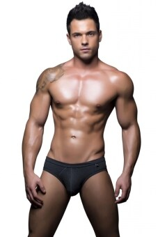 Harga ANDREW CHRISTIAN Basix Tagless Comfort Brief (charcoal)