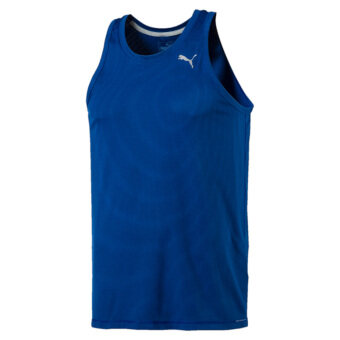 Harga Puma Men's Core-Run Singlet (Blue)