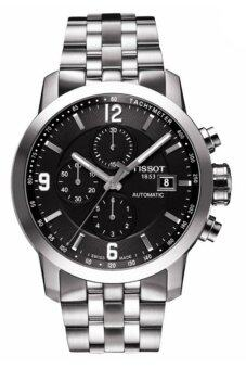 Harga Tissot PRC 200 Men's Silver Stainless Steel Strap Watch T055.427.11.057.00