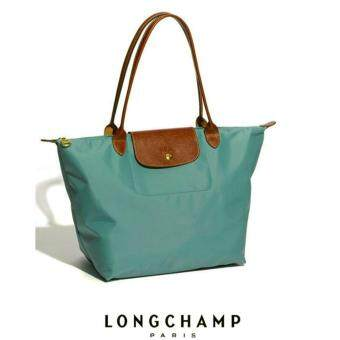 Harga LONGCHAMP LE PLIAGE TOTE 1899089 LARGE/LONG HANDLE (CANARD)