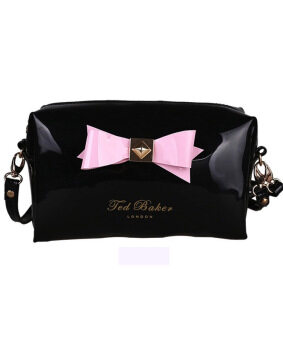 Harga Ted.B Bow Pouch (Black)