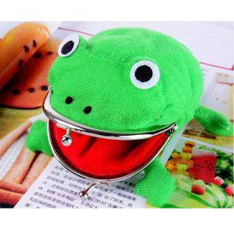 Harga High Quality Store New Cute Uzumaki Naruto Frog Shape Coin Purse Wallet Soft Furry Plush Gift