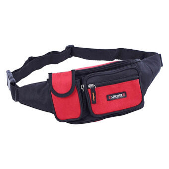 Harga SoKaNo Trendz Waist And Sling Pouch Red