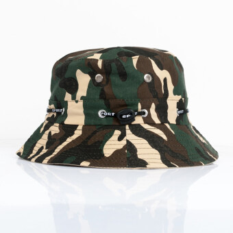 Harga AOSEN FASHION Camouflage hat folding sun hat summer mountaineering cap for men and women Green
