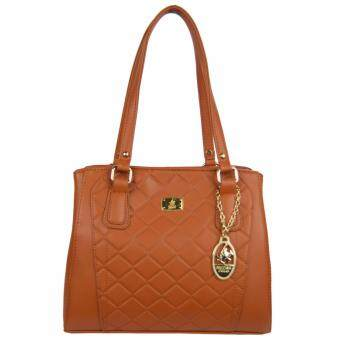 Harga 100% Original British Polo Summer Sale Elegant handbag Brown (PL61117-02)