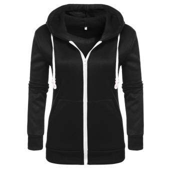 Harga Jo.In New Fashion Women Hoodie Sweatshirt Sweater Casual Hooded Top