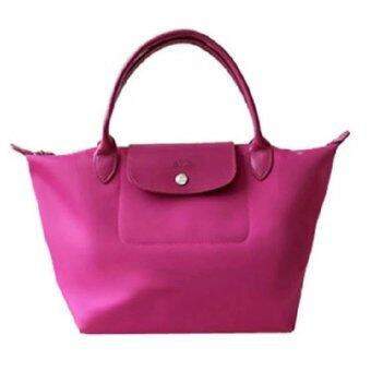 Harga Longchamp Planetes Short Handle Small LC014A (Deep Pink)