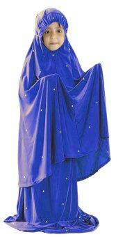 Harga Hijabera - Kidstar Telekung Set With Crystals (Royal Blue)