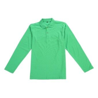 Harga Satinni V9007 Long Sleeve Men Shirt (Green)