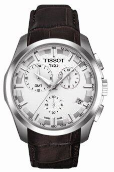 Harga Tissot Men's Brown Leather Strap Watch T035.439.16.031.00