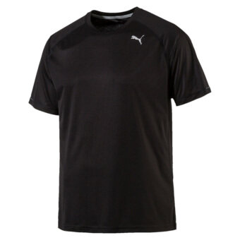 Harga Puma Men's Core-Run Shortsleeve Tee (Black)