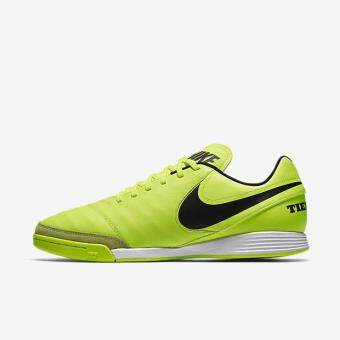 Harga NIKE MEN TIEMPO GENIO II LEATHER IC FOOTBALL SHOE VOLT 819215-707 US7-11 02'