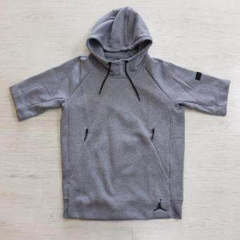 Harga NIKE AIR JORDAN ICON FLEECE HOODIE COOL GREY