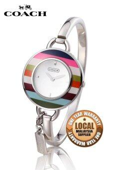 Harga Coach Phoebe Charm Women's Silver Stainless Steel Watch 14501302