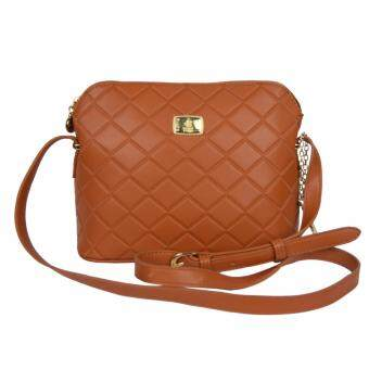 Harga 100% Original British Polo Summer Sales Elegant Sling bag Brown (PL61116-02)
