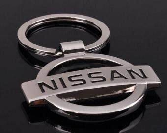 Harga ONE PCs Hot Sale Car Logo Keychain Llaveros Chaveiro for Nissan Key Chain Keychain Keyring Key Ring PromotionaL Key Gift