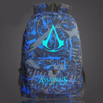 Harga Assassin's Creed Noctilucent backpack schoolbag