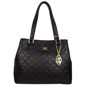 Harga 100% Original British Polo Summer Sale Elegant handbag Black (PL61119-01)