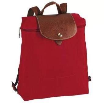 Harga Longchamp Le Pliage Backpack ( Red )
