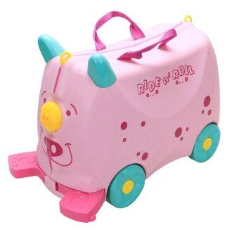 Harga Kid's Toys Luggage/Storage Box – Lightweight & Ideal For Kids (Pink)