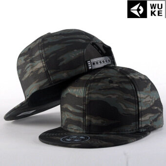 Harga 2017 new hip-hop hops hip-hop baseball cap camouflage trend European and American street fashion hat male