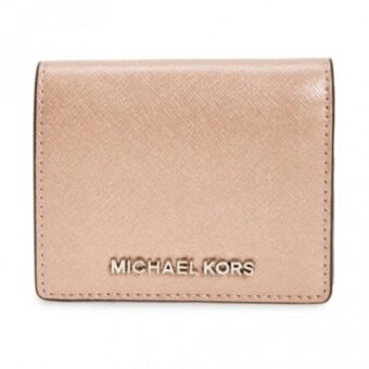 Harga Michael Kors Jet Set Flap Card Holder(Ballet)