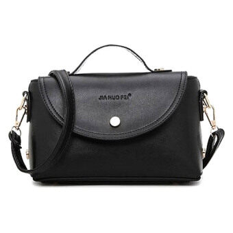 Harga SoKaNo Trendz 1818 2 Way PU Leather Bag (Black)