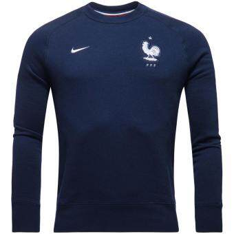 Harga Nike France Sweatshirt AW77 Authentic Crew - Navy