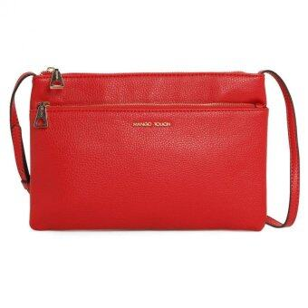 Harga Mango Double Zip Sling Bag ( Red )