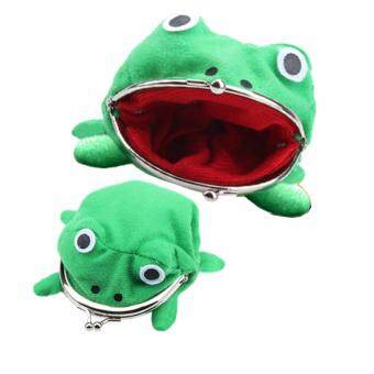 Harga Amart Frog Fluff Coin Purse Wallet New Cartoon Green Cute