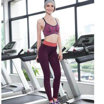 Harga Women Yoga Pant - Wine
