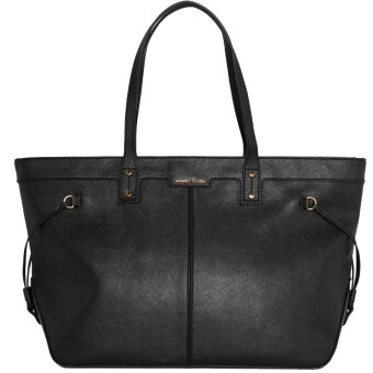 Harga Mango Saffiano Effect Shopper Bag (Black)