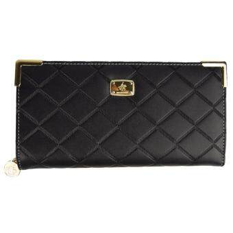 Harga 100% Original British Polo Summer Sale Wallet Black ( WP11610-01)