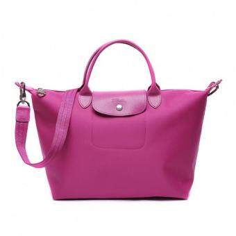 Harga Longchamp Le Pliage Neo 1515 Medium 100% authentic guarantee (Hydrangea)