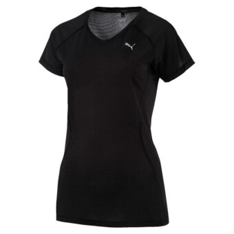 Harga Puma Women's Core-Run Shortsleeved Tee W (Black)