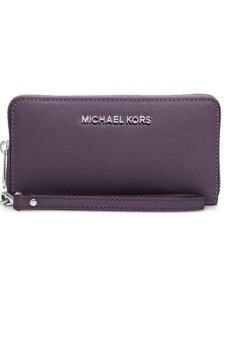Harga Michael Kors Jet Set Travel Large Smartphone Wristlet - (Purple)