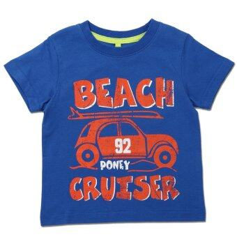 Harga PONEY BEACH CRUISER GRAPHIC TEE (BLUE)