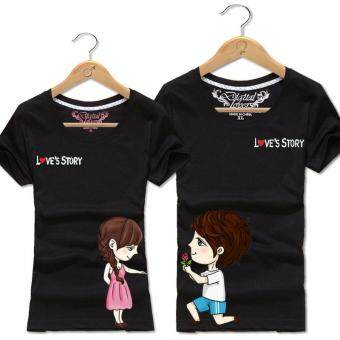 Harga Black Couple T-Shirt (Price for One T-Shirt)