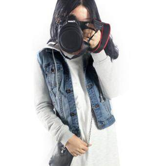 Harga Jo.In NEW Womens Denim Jersey Jacket Jean Jackets Hooded Coat