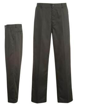 Harga Dunlop Mens Training Sports Golf Trousers Leggings Pants Clothing Wear Charcoal